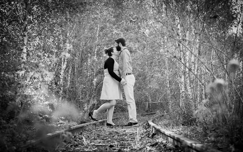 Séance photo engagement de Cécile & Fabien - Photographe Angers
