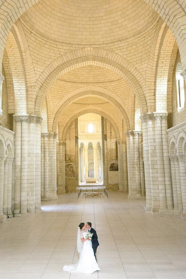 mariage Abbaye Fontevraud photographe saumur angers