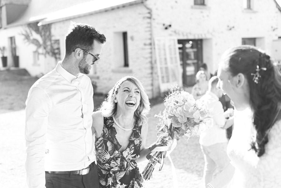bouquet ruban mariage